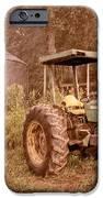 John Deere Antique IPhone Case by Debra and Dave Vanderlaan