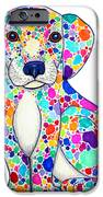 Painted Puppy IPhone Case by Nick Gustafson