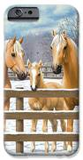 Palomino Quarter Horses In Snow IPhone 6s Case by Crista Forest