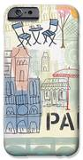 Paris Cityscape- Art By Linda Woods IPhone 6s Case by Linda Woods
