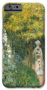 Rose Garden IPhone Case by Claude Monet