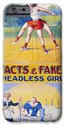 Sideshow Poster, C1975 IPhone Case by Granger