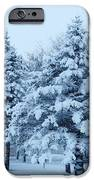 Snow Flocked Pines IPhone 6s Case