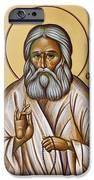 St Seraphim Of Sarov IPhone Case by Julia Bridget Hayes