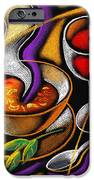 Steaming Supper IPhone Case by Leon Zernitsky