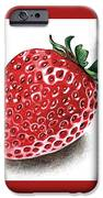 Strawberry Bite IPhone 6s Case by Janet Moss