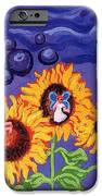 Sunflowers And Faeries IPhone Case by Genevieve Esson