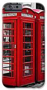 Telephone Boxes In London IPhone Case by Elena Elisseeva