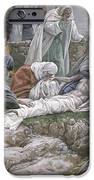 The Holy Virgin Receives The Body Of Jesus IPhone Case by Tissot