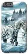 Winter Deuces IPhone Case by Lourry Legarde