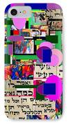 Atomic Bomb Of Purity 4 IPhone Case by David Baruch Wolk