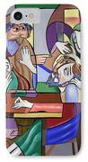 Jesus Anointed At Bethany IPhone Case