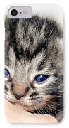 Kitten In A Hand IPhone Case
