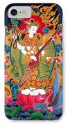 Saraswati 3 IPhone Case