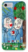 The Power Of Persuasion  IPhone Case by Anthony Falbo