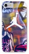 Truly Michael Jordan  IPhone Case by Tony B Conscious