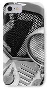 1935 Aston Martin Ulster Race Car Grille IPhone Case by Jill Reger