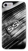 1969 Chevrolet Camaro Rs-ss Indy Pace Car Replica Steering Wheel Emblem IPhone Case