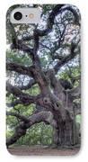 Angel Oak IPhone Case by Dustin K Ryan