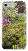 Asticou Azelea Garden - Northeast Harbor - Mount Desert Island - Maine IPhone Case