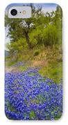 Bluebonnet Meadow IPhone Case