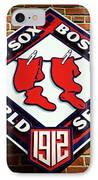 Boston Red Sox 1912 World Champions IPhone Case