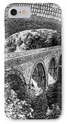 Bridge Under A Bridge IPhone Case by Jane Rix