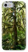 Capilano River Canyon 10 IPhone Case by Terry Elniski