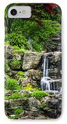 Cascading Waterfall IPhone Case by Elena Elisseeva