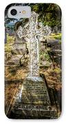 Celtic Cross IPhone Case by Adrian Evans