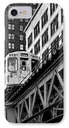 Chicago Loop 'l' IPhone Case by Christine Till