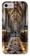 Church Interior IPhone Case