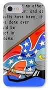 Confederate States Of America Robert E Lee IPhone Case