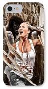 Corn Field Horror IPhone Case