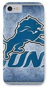 Detroit Lions IPhone Case by Joe Hamilton