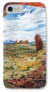 Double Arch IPhone Case by Aaron Spong
