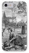 Emigrants Arkansas, 1874 IPhone Case
