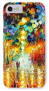 Farewell To Anger IPhone Case by Leonid Afremov