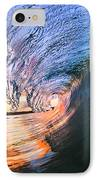 Fire And Ice IPhone Case by Sean Davey