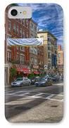 Hanover St. IPhone Case by Joann Vitali