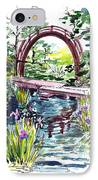 Japanese Tea Garden San Francisco IPhone Case by Irina Sztukowski