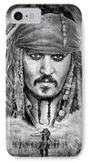 Johnny Depp IPhone Case by Andrew Read