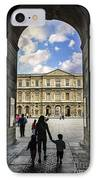 Louvre IPhone Case by Elena Elisseeva