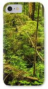 Lush Temperate Rainforest IPhone Case