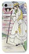 Mother Goose, 1916 IPhone Case by Granger
