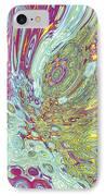 Organic Optical Illusion 2 IPhone Case by The Art of Marsha Charlebois