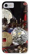 Outdoor Shop Sells Fake Chinese Antiques IPhone Case by Yali Shi