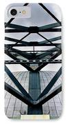 Perspectives Mellon Arena IPhone Case by Amy Cicconi