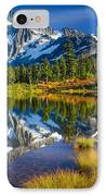 Picture Lake IPhone Case by Inge Johnsson
