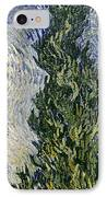 Road With Cypresses IPhone Case by Vincent Van Gogh